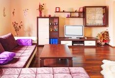 Wohnzimmer modern lizenzfreies stockfoto