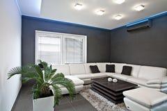 Wohnzimmerbeleuchtung Stockfotografie