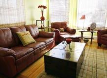 Wohnzimmereinstellung lizenzfreies stockfoto
