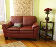 Wohnzimmereinstellung stockbild