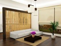 Wohnzimmerinnenraum Stockfotos