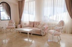 Wohnzimmerinnenraum Stockfoto