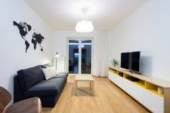Wohnzimmerinnenraum Stockbild
