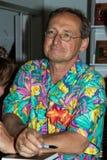 Wojciech Cejrowski sulla quarta fiera del libro a Varsavia Immagine Stock Libera da Diritti