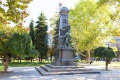 Wojenna bohater statua zdjęcie stock