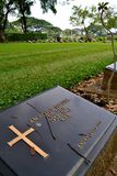 Wojenny cmentarz Obrazy Stock