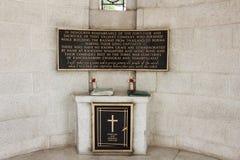 Wojenny cmentarz zdjęcia royalty free