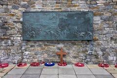 Wojenny Falklands Pomnik Falklands - Stanley - Zdjęcie Royalty Free