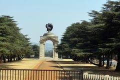 Wojenny pomnik blisko Johannesburg zoo Obrazy Stock