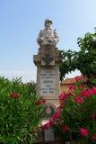 Wojenny pomnik dla ofiar WW Ja w Fayence, Francja Zdjęcie Stock