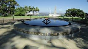Wojenny pomnik Perth zbiory wideo