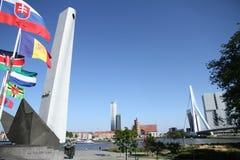 Wojenny pomnik Rotterdam Obrazy Royalty Free