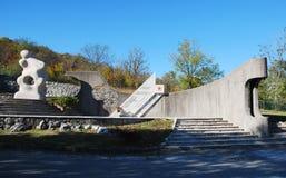 Wojenny pomnik w Palchisce Zdjęcie Stock