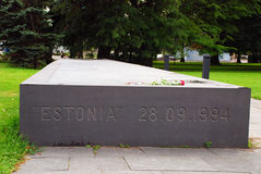 Wojenny pomnik w Tallinn, Estonia Fotografia Stock