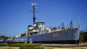 Wojenny statek Zdjęcia Stock
