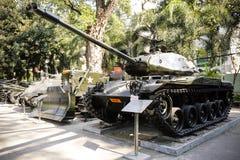 Wojennych szczątków Ho Chi Minh Muzealny miasto Wietnam Obraz Royalty Free