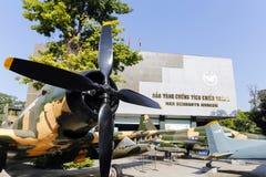Wojennych szczątków Ho Chi Minh Muzealny miasto Wietnam Obrazy Stock