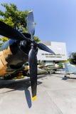 Wojennych szczątków Ho Chi Minh Muzealny miasto Wietnam Obrazy Royalty Free
