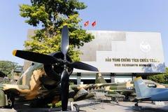 Wojennych szczątków Ho Chi Minh Muzealny miasto Wietnam Fotografia Royalty Free