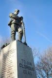 Wojna Światowa Jeden i Dwa pomnik zdjęcie stock