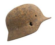 Wojna światowa niemiecki Hełm Dwa zdjęcia stock