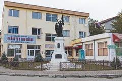 Wojna Światowa pamiątkowy zabytek - statua obrazy royalty free
