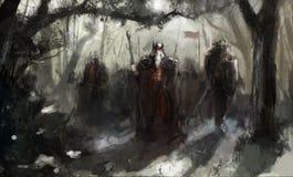 wojna royalty ilustracja