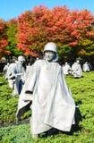 Wojna Koreańska pomnik obraz stock