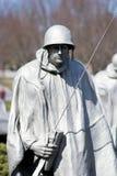 Wojna Koreańska weteranów pomnik, washington dc obrazy royalty free