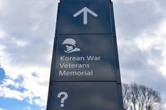 Wojna Koreańska weterani Pamiątkowi w Waszyngton, DC, usa zdjęcie royalty free