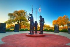 Wojna Koreańska pomnik Zdjęcie Royalty Free