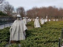 Wojna Koreańska pomnik w washington dc Zdjęcia Royalty Free