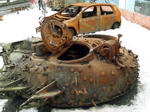 Wojna w Ukraina Obrazy Stock