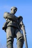 Wojna Światowa Jeden i Dwa pomnik Zdjęcia Stock