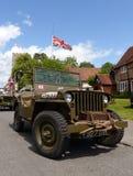 Wojny światowa dwa dżipa pojazd zdjęcia royalty free