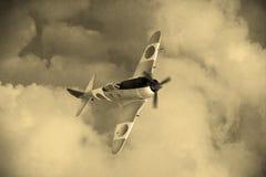 Wojny Światowa 2 japończyka samolot Zdjęcie Stock