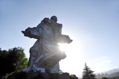 Wojny Światowa Dwa pomnik w Dilijan Zdjęcia Stock