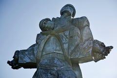 Wojny Światowa Dwa pomnik w Dilijan Zdjęcie Royalty Free