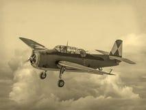 Wojny Światowa 2 USA samolot Zdjęcie Stock