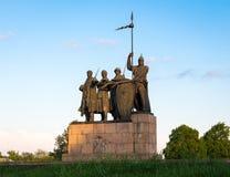Wojownicy fatherland fotografia stock