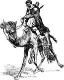 Wojownik na wielbłądzie Zdjęcie Stock