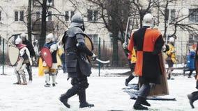 Wojownik, rycerz, hełm, zdjęcie wideo