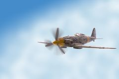 wojownik samolot Zdjęcie Stock