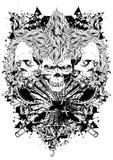 Wojownika trinity ilustracja wektor