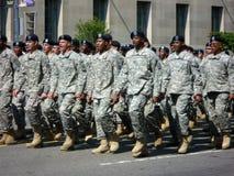 wojska żołnierzy stan jednoczący Zdjęcie Stock