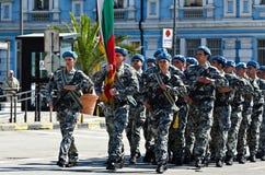 wojska bulgarian dzień zdjęcia royalty free