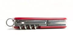 wojska noża otwarty szwajcar Zdjęcie Royalty Free