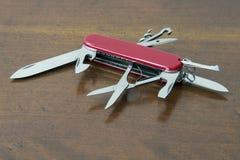 wojska noża szwajcar Fotografia Stock