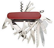 wojska noża szwajcar Zdjęcie Royalty Free