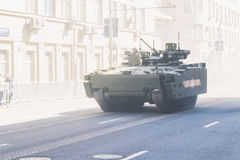 wojska wmarszu parady rosjanina żołnierze Zdjęcie Royalty Free